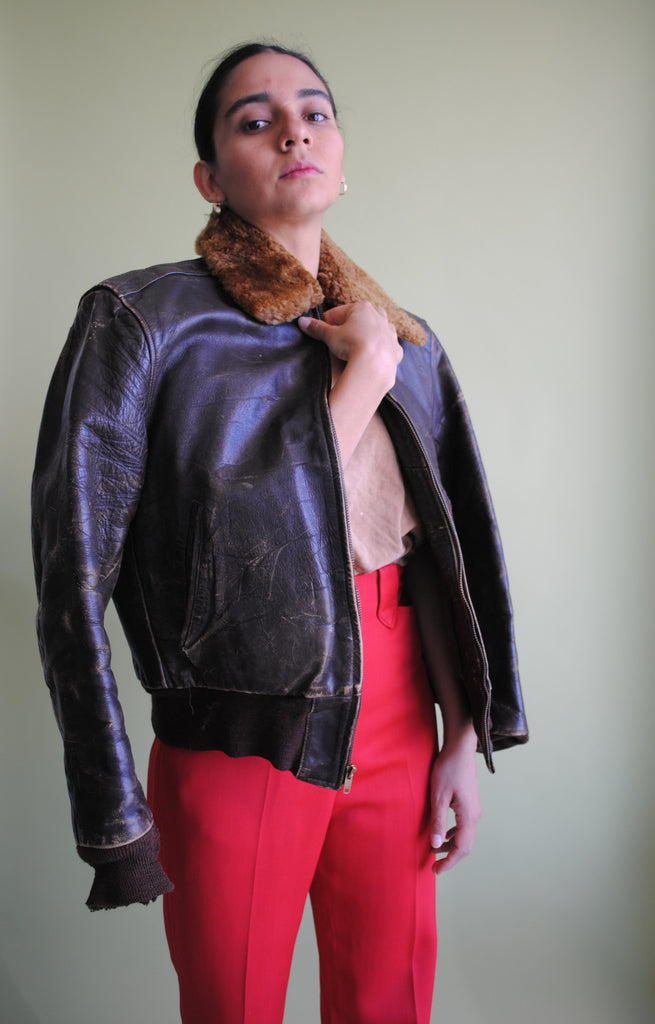 1950's Leather Jacket