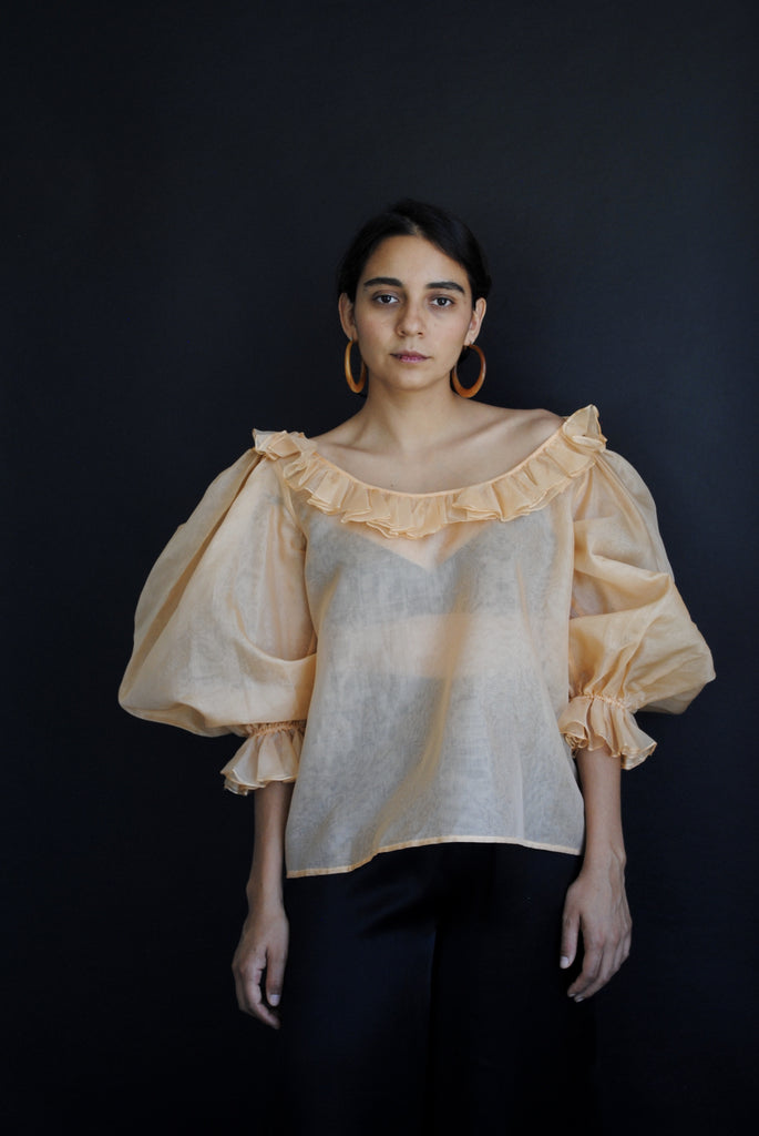 Organza Summer Blouse