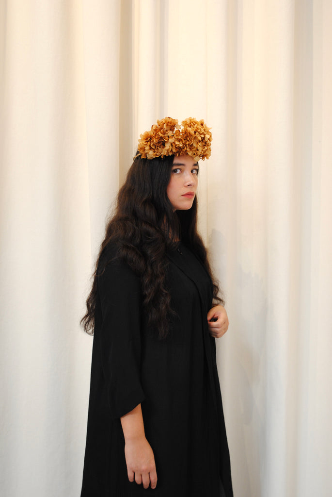 Dried Hydrangea Crown