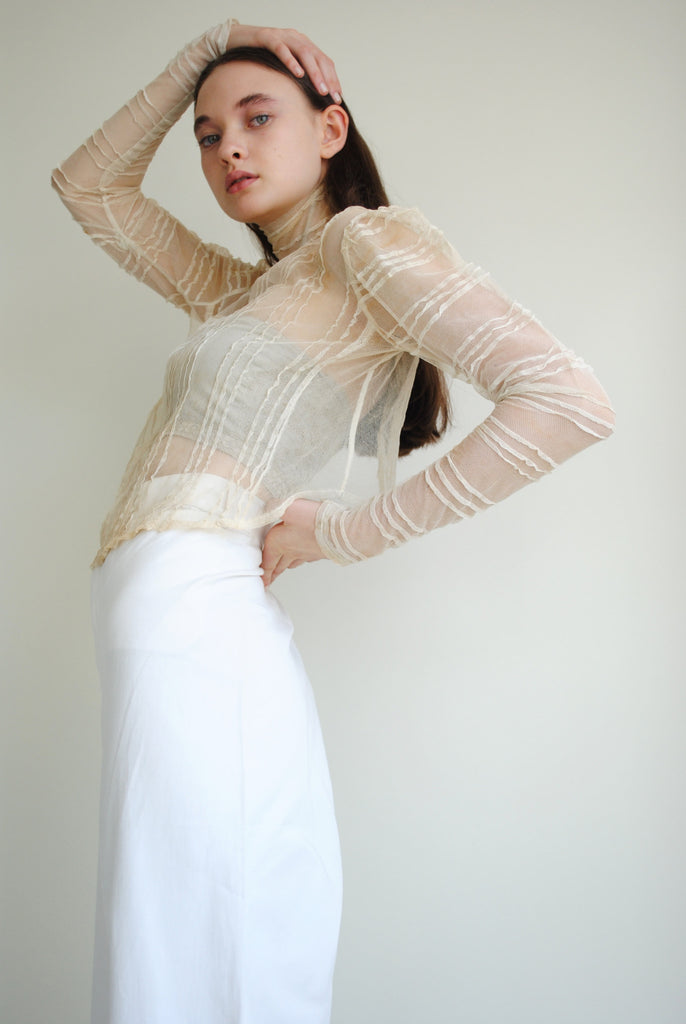 Antique Mesh Blouse