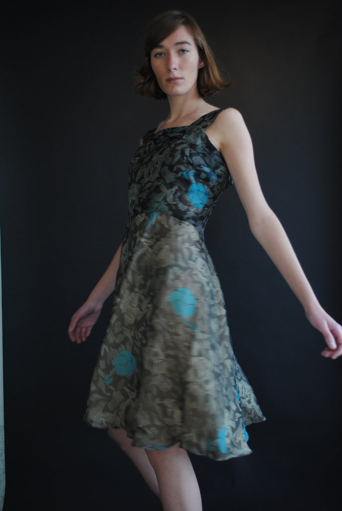Pauline Trigere Silk Dress