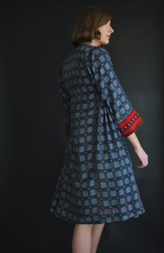 Vintage Embroidered Tunic Dress