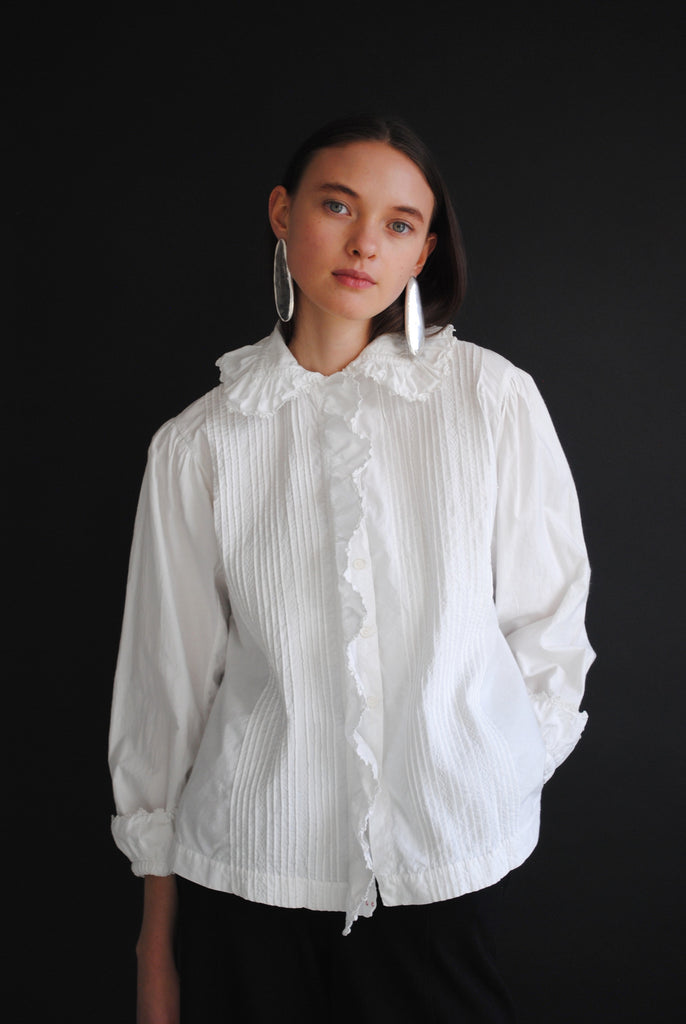 Antique Poplin Blouse