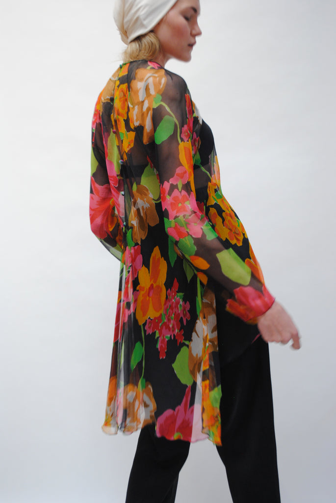 1930s Floral Tunic