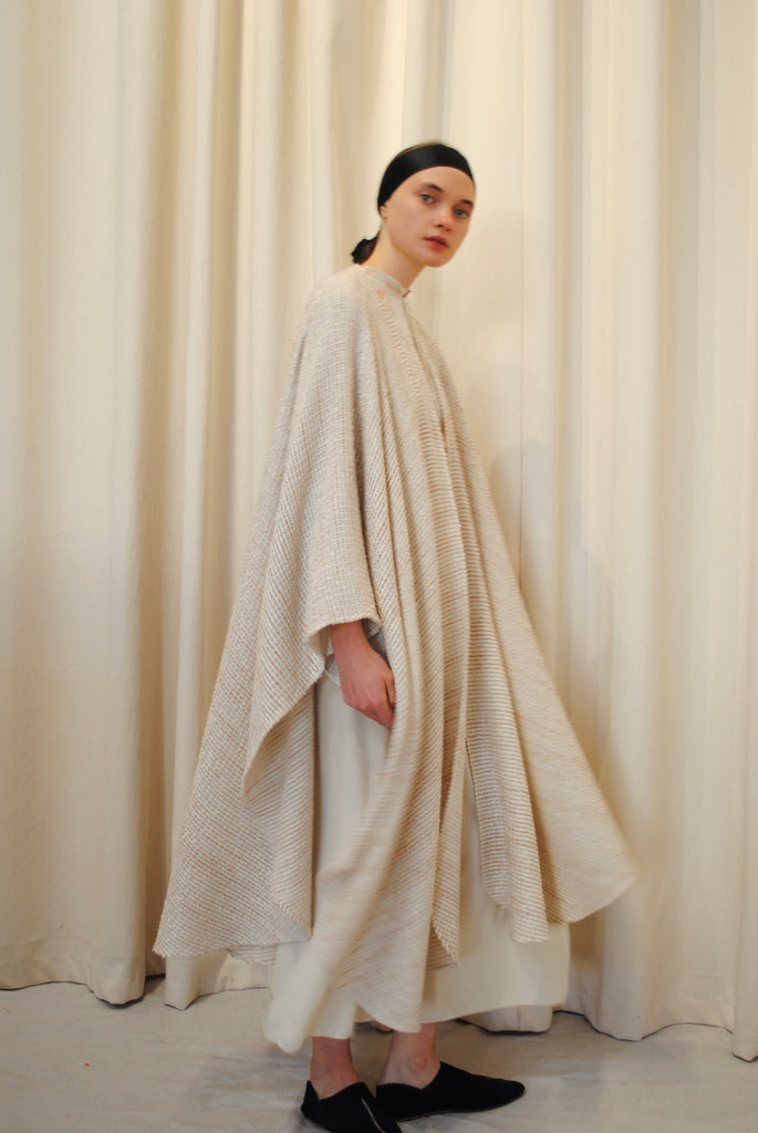 Woven Silk and Cotton Wrap