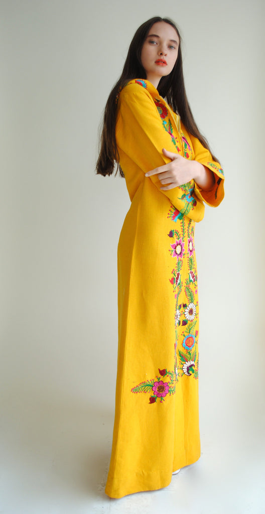 Cotton Hooded Caftan