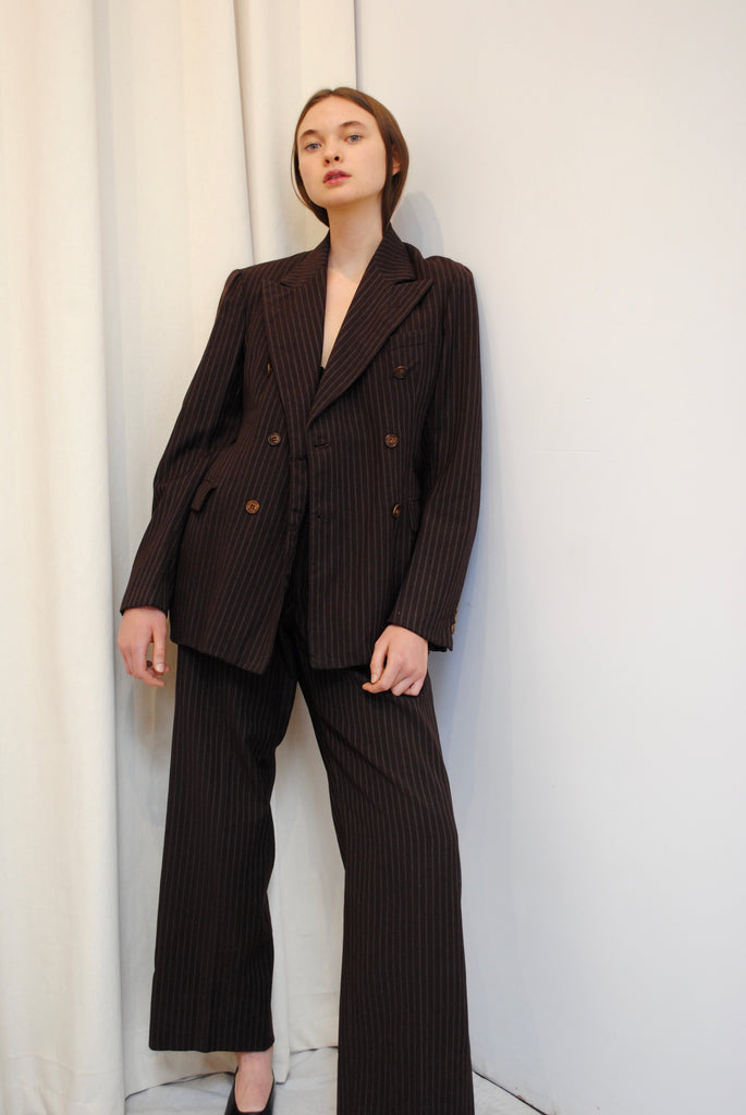 1930's Striped Suit