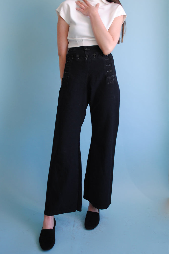 Vintage Sailor Trousers