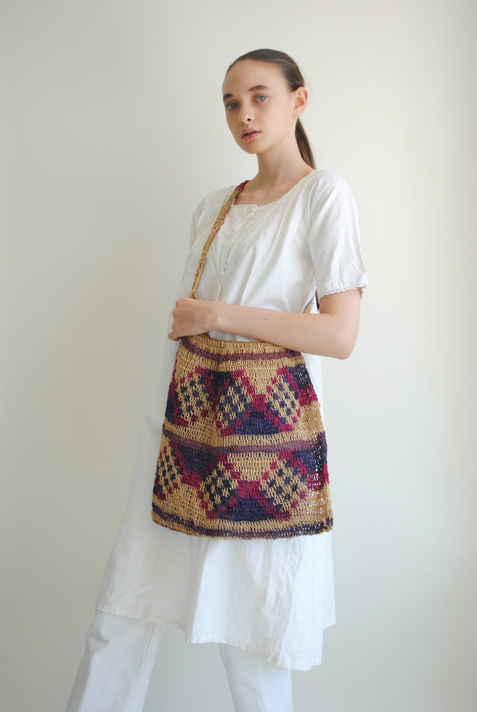 Antique Woven Bag