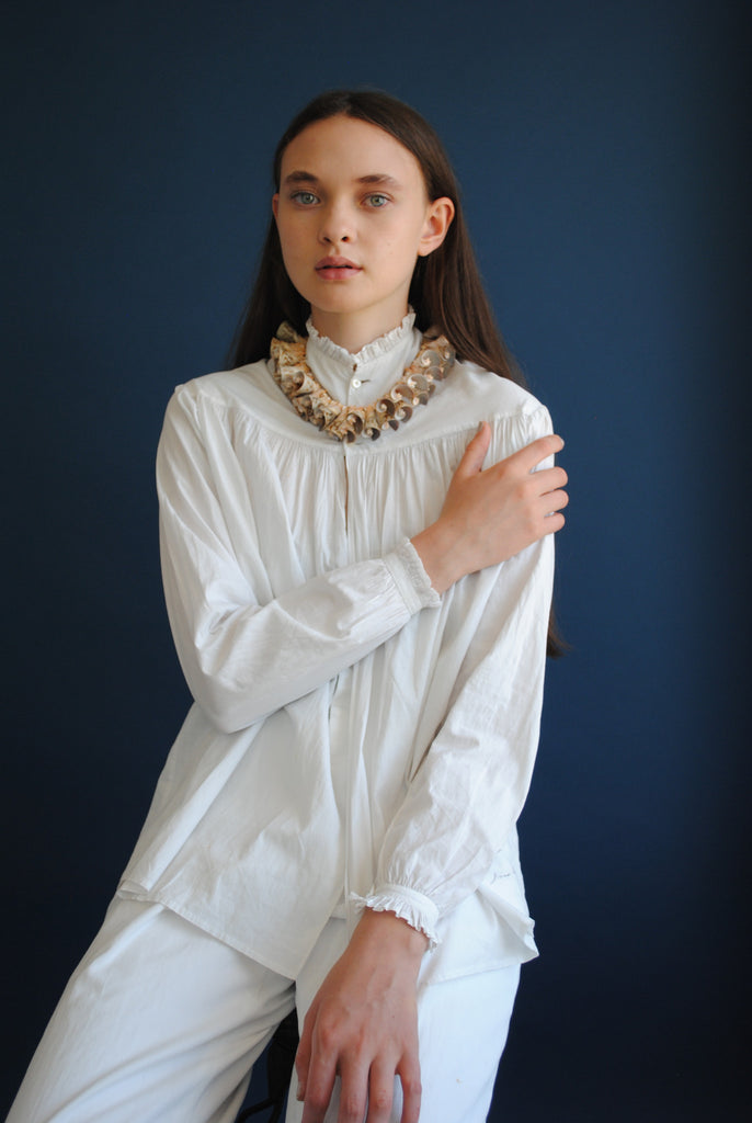 Shell Collar Necklace