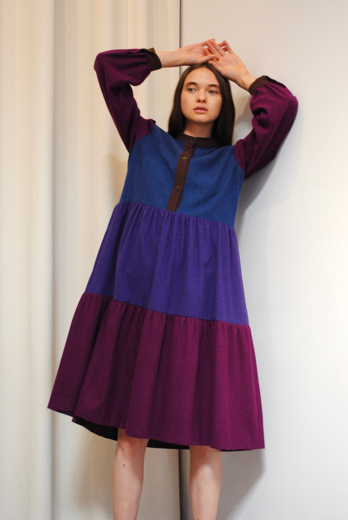 Tiered Winter Dress