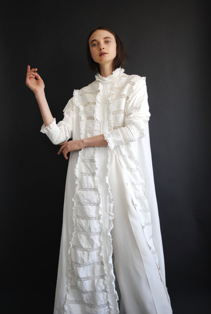 Edwardian Cotton Duster