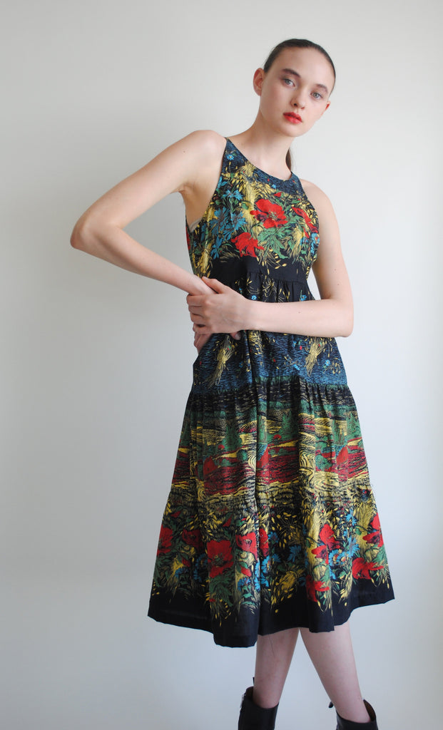 Cotton Printed Summer Dress