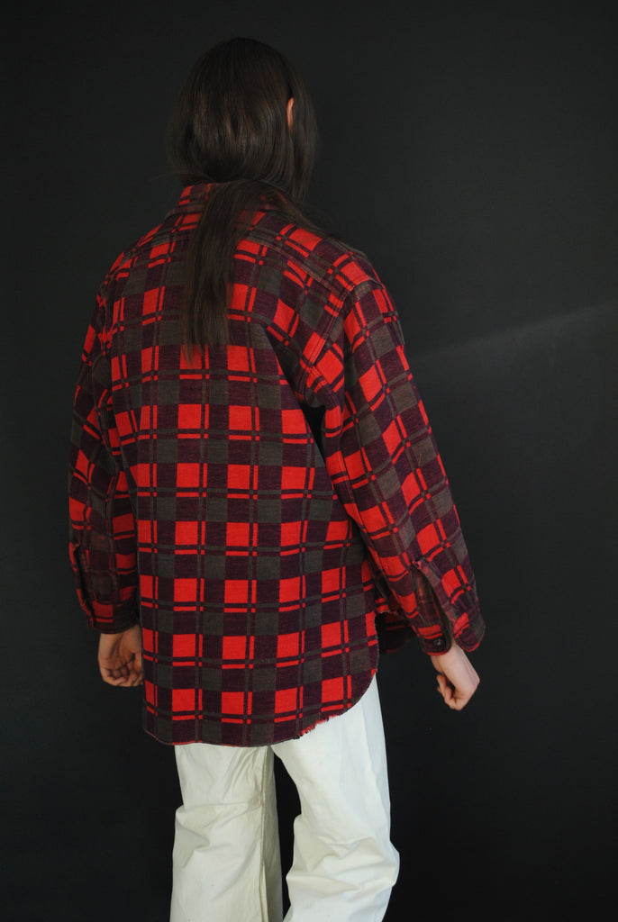 1940's Checkered Shirt