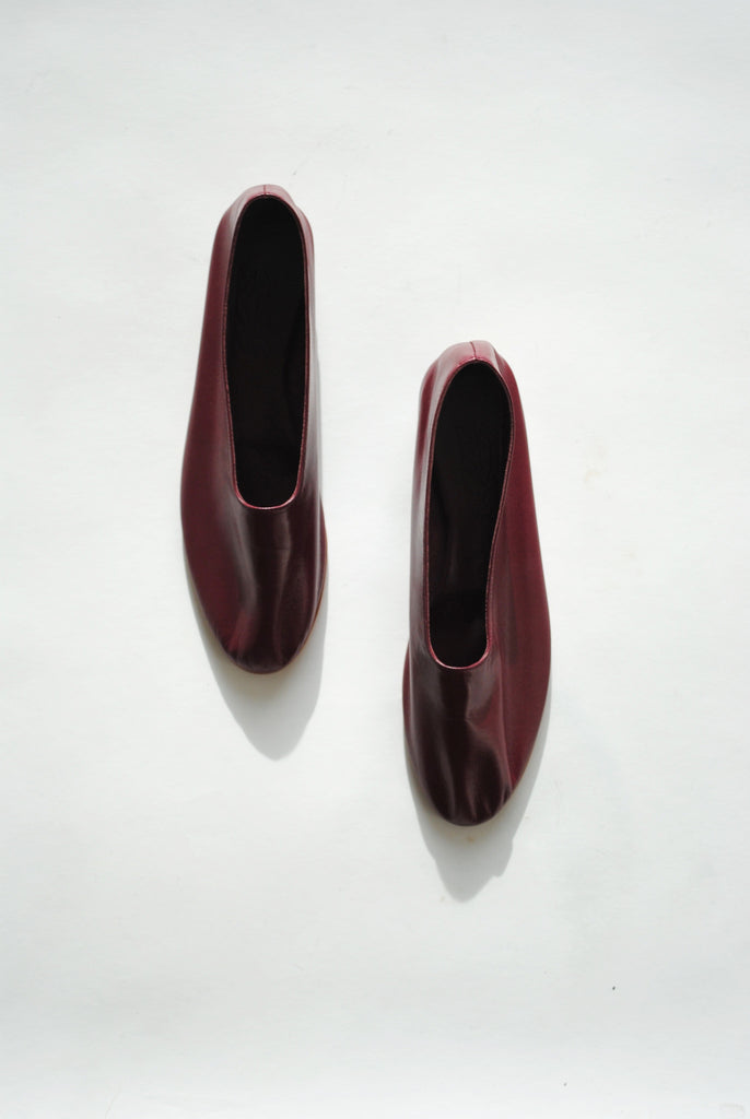 Martiniano Glove Shoe, Burgundy