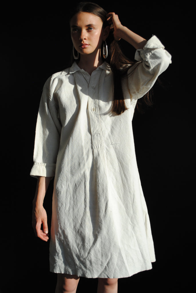 Antique Linen Dress