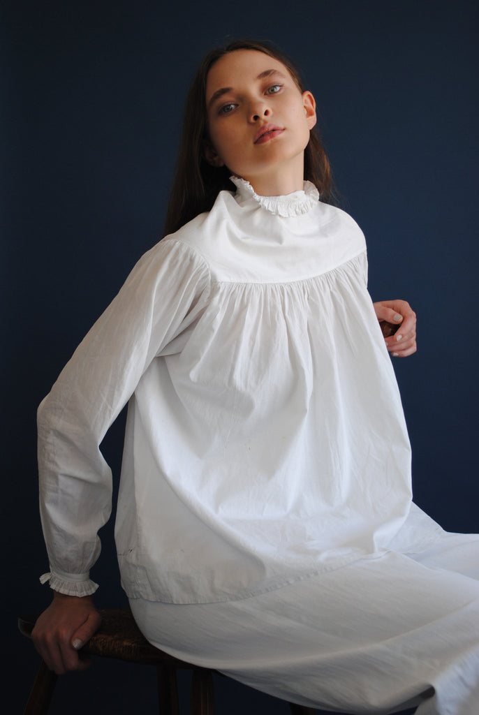 Antique White Blouse
