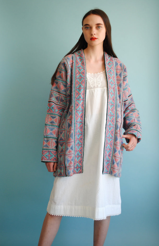 Needlepoint Cocoon Jacket