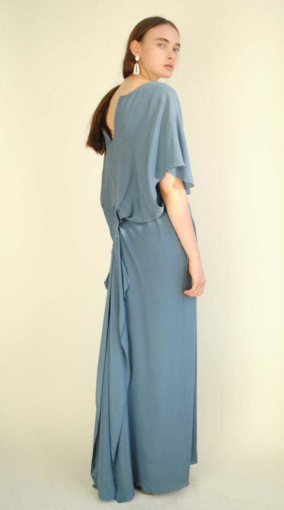 Vintage Powder Blue Gown