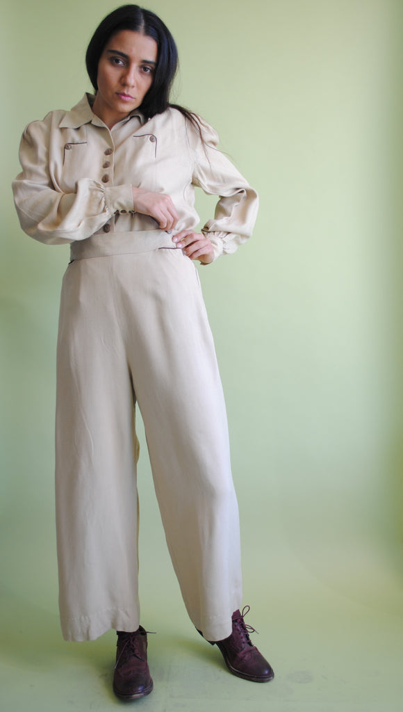 1940s Workwear Suit