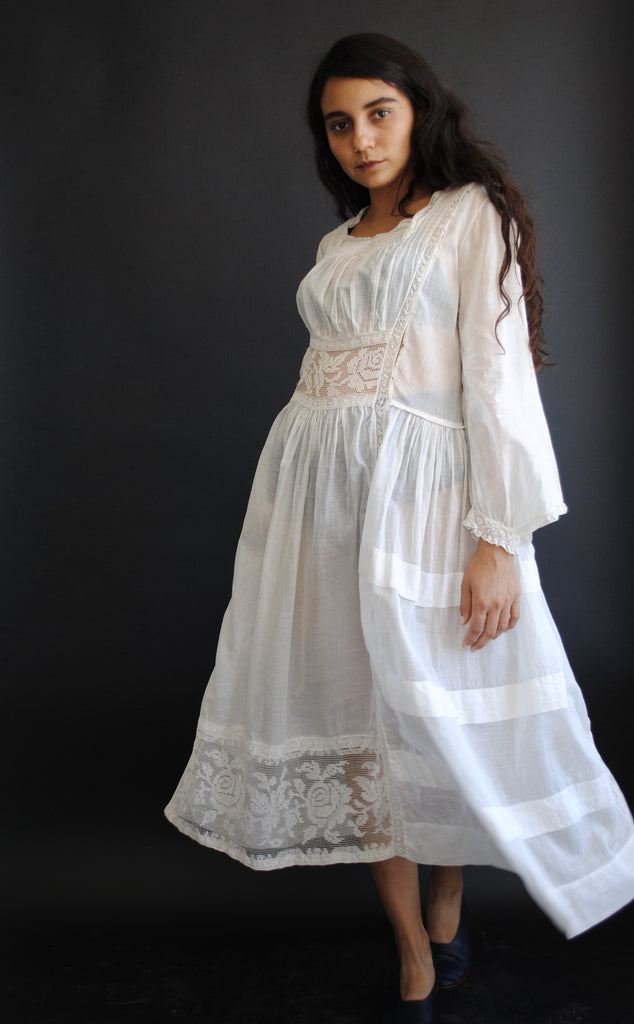 Edwardian Cotton Dress