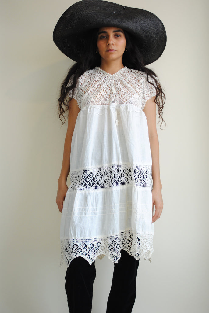 Antique Crochet Dress