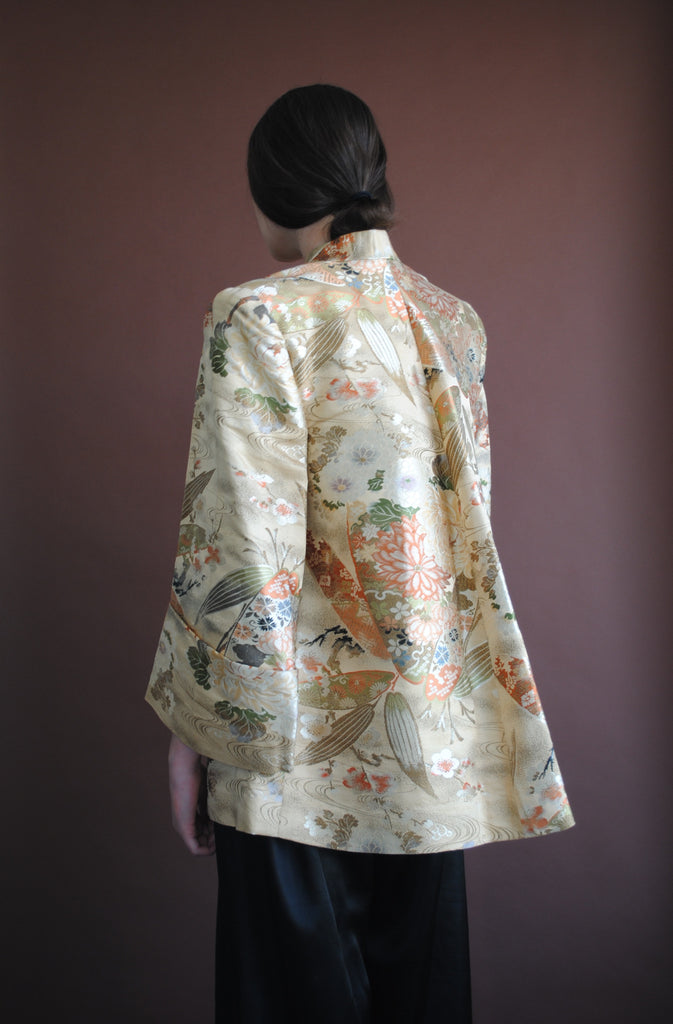 1940's Brocade Swing Jacket