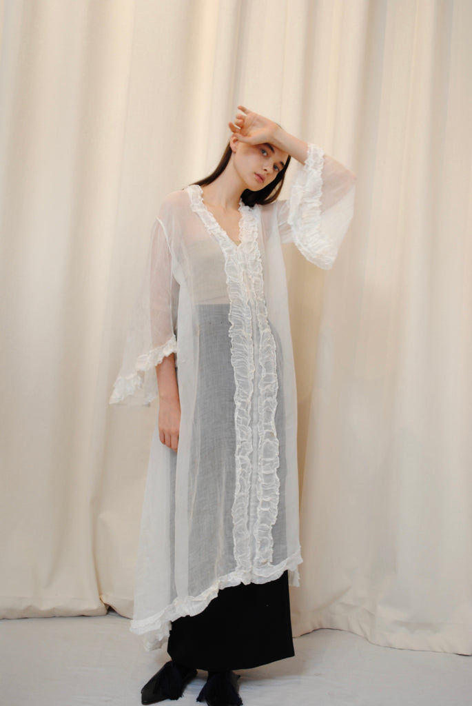 Antique Cotton Gauze Dress