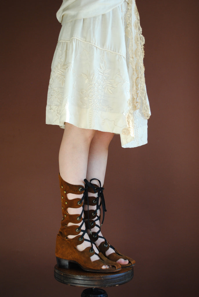 Vintage Lace up shoes