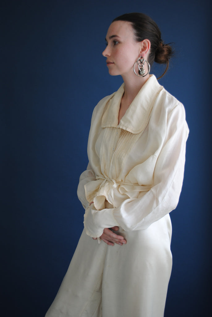 Edwardian Silk Blouse