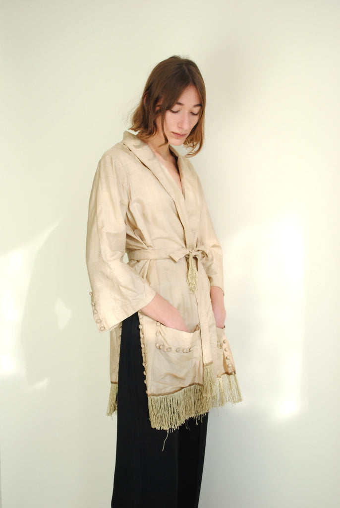 Edwardian Silk Tassel Jacket