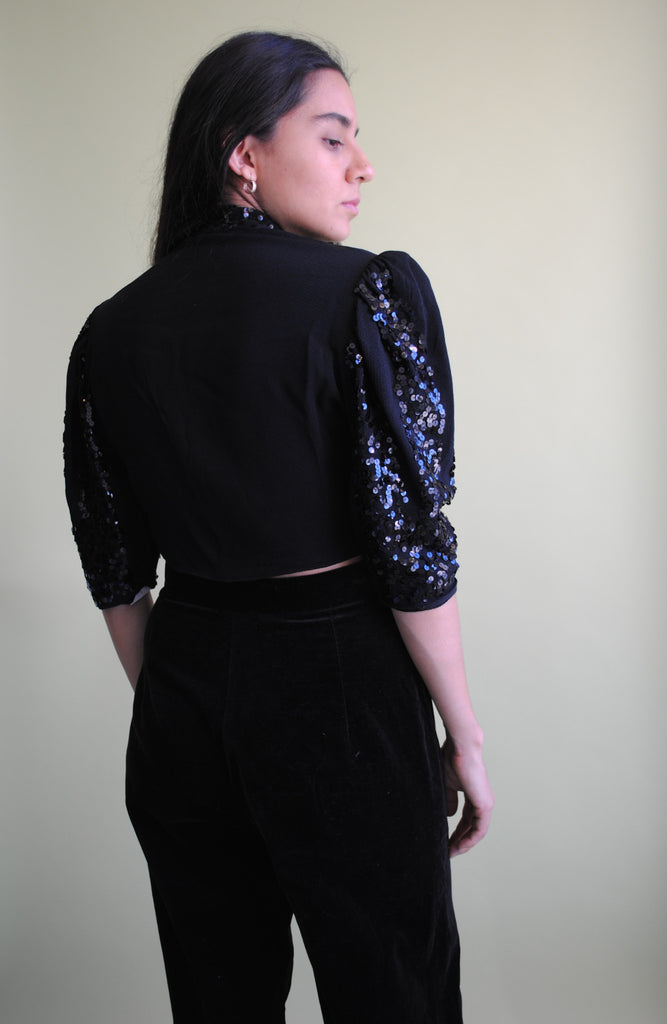 1930's Sequined Top
