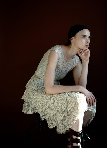 1920's Tiered Lace Dress