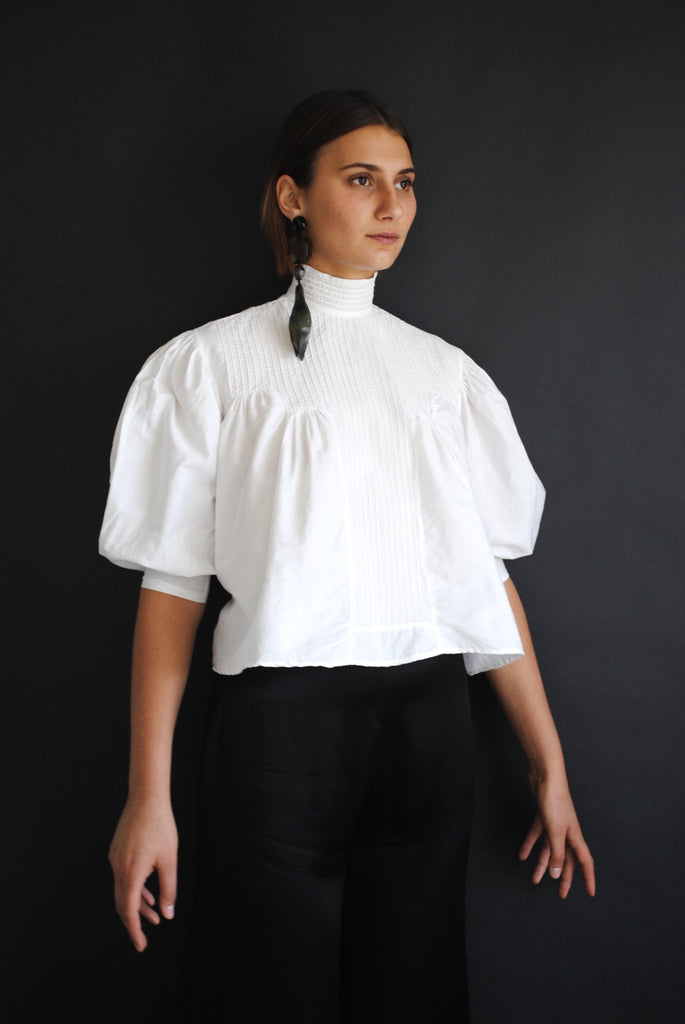 Antique White Summer Blouse