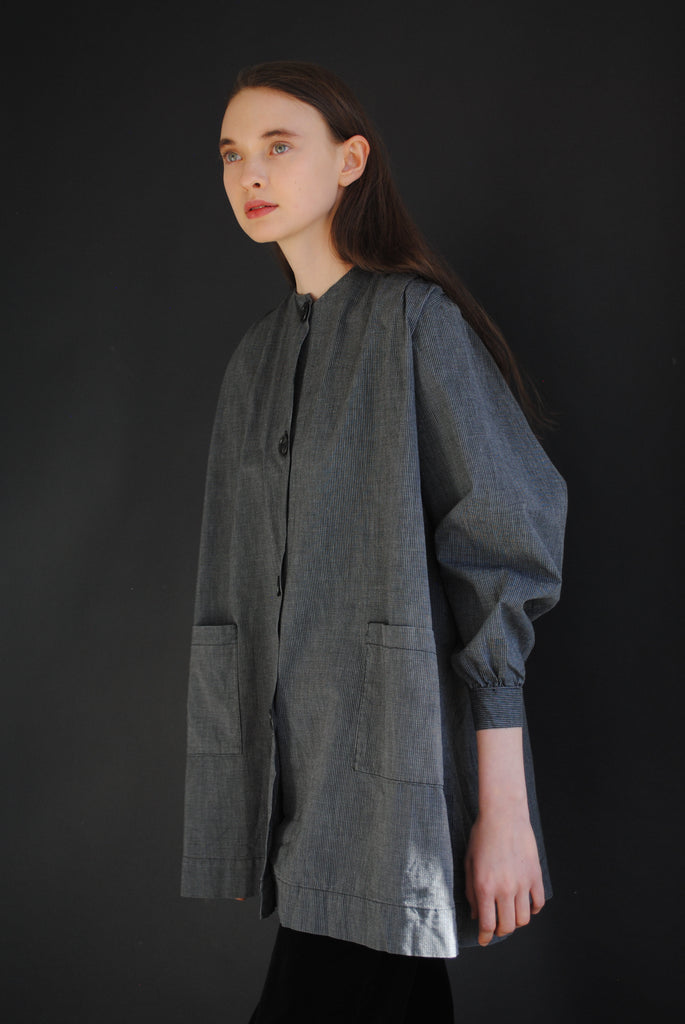 Cotton Smock Coat