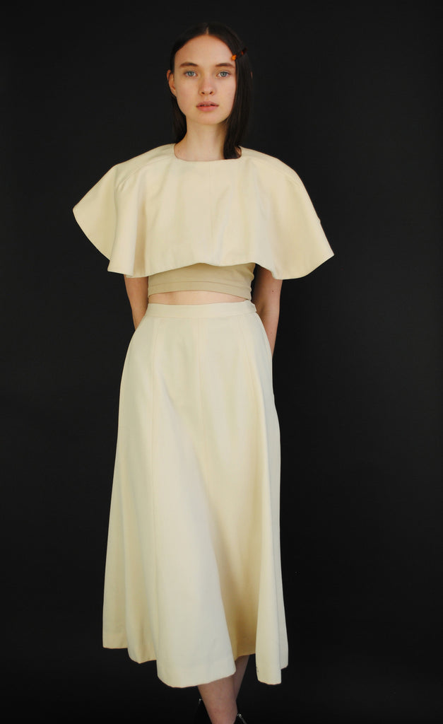 1930's Caplet and Skirt