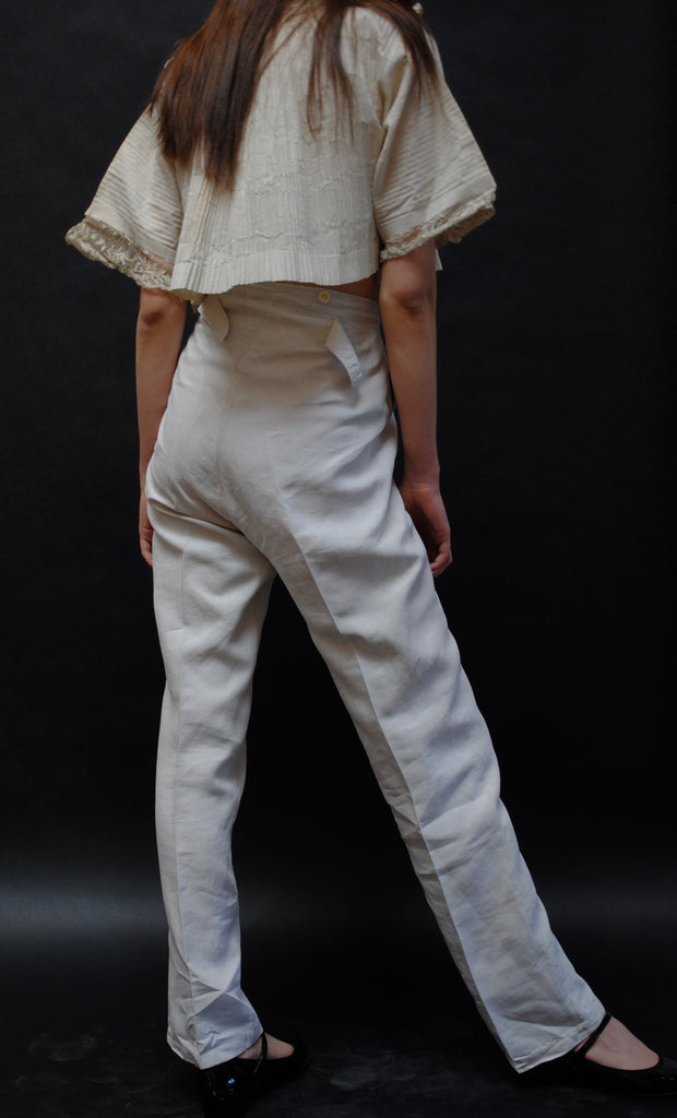 Antique Linen Trousers