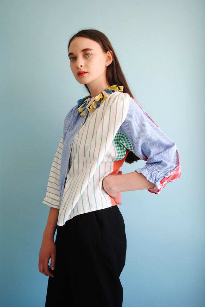 Home Made Patchwork Blouse