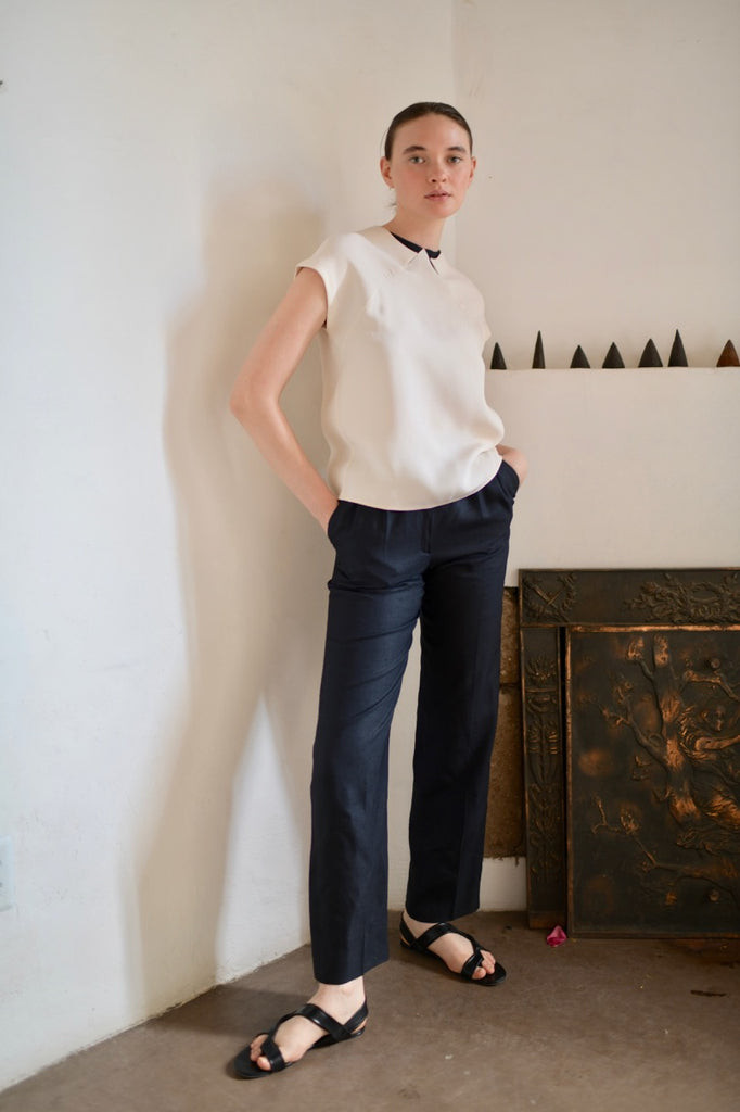 Vintage Geoffrey Beene Two-Tone Blouse