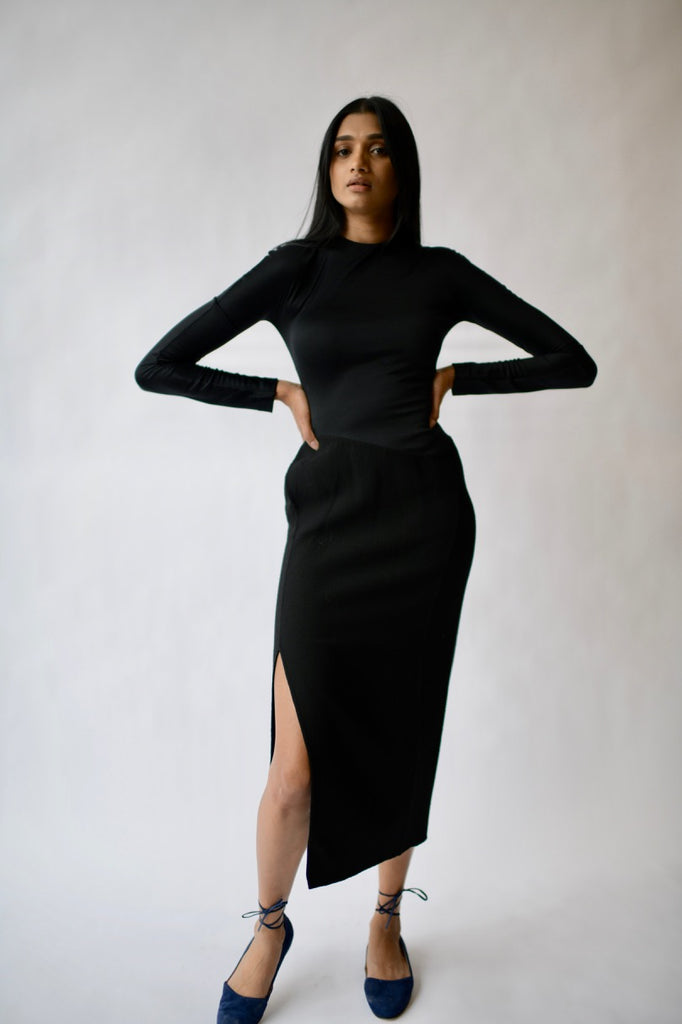 Geoffrey Beene Tonal Dress