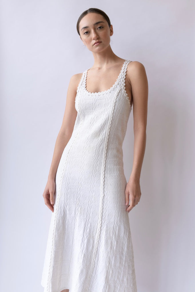 1930s Cotton Knit Dress