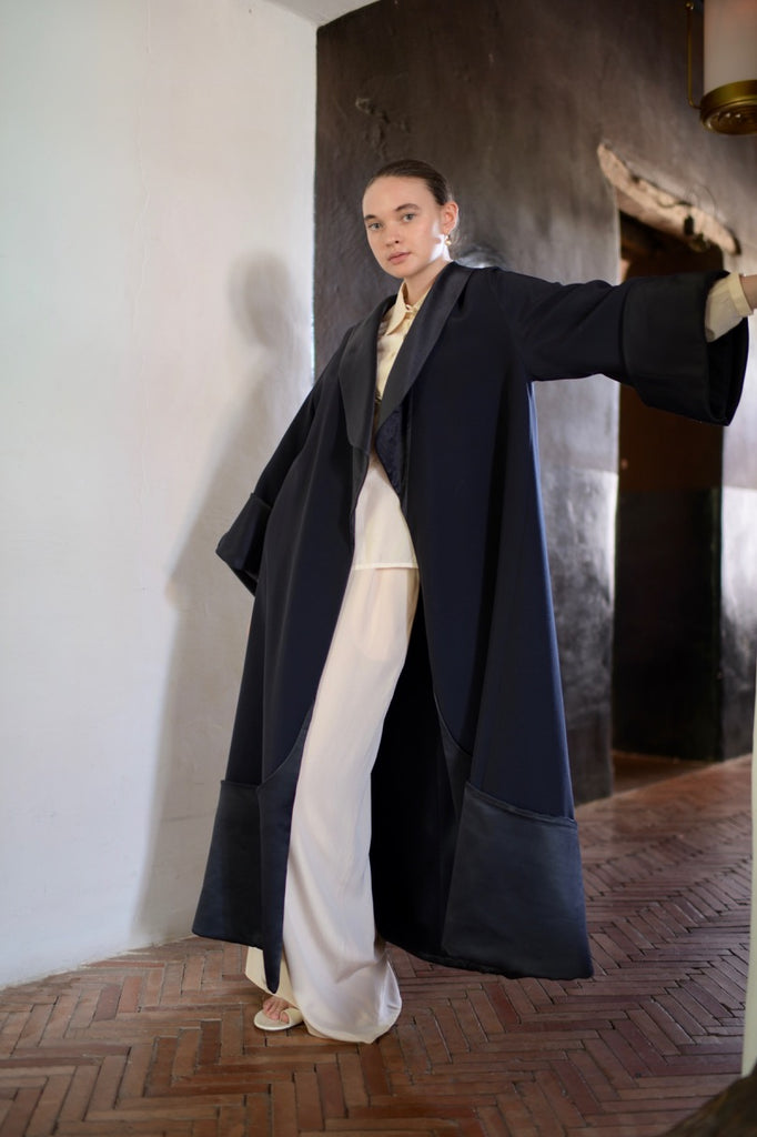 Claude Montana Navy Opera Coat