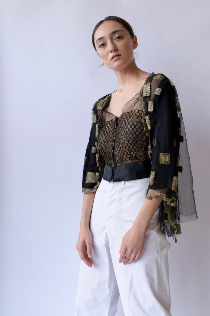 Edwardian Pieced Blouse