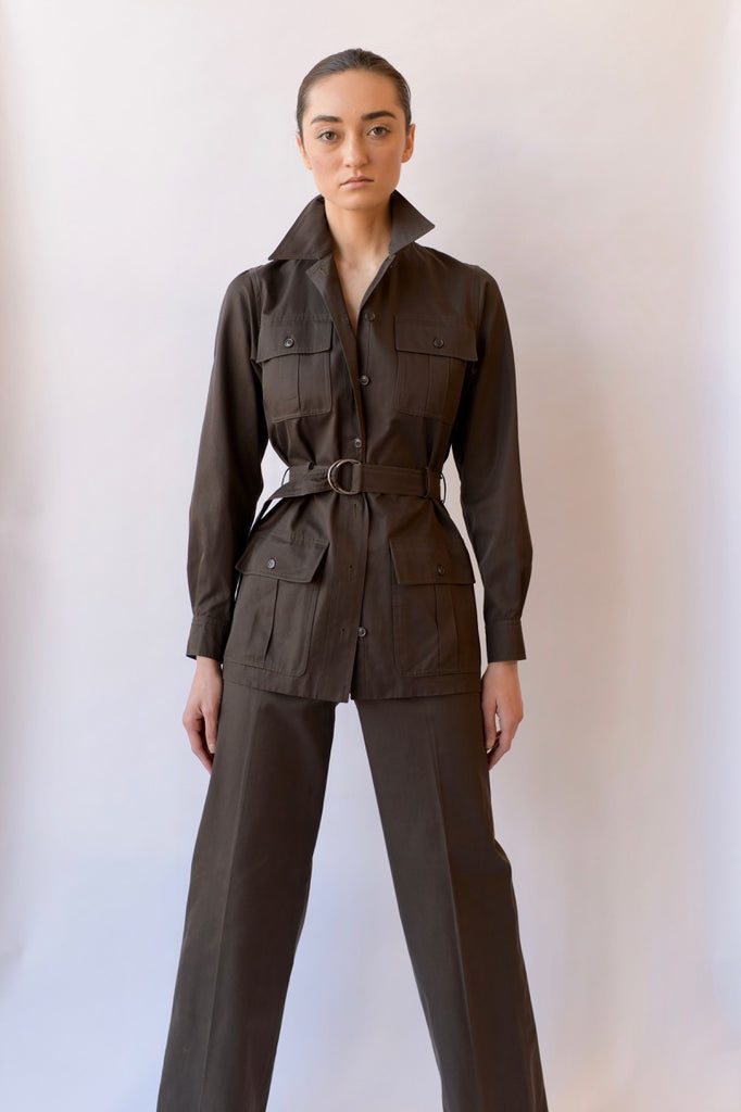 1970 YSL Archival Safari Suit