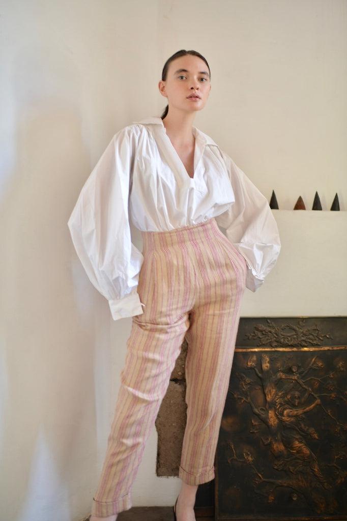 Vintage Romeo Gigli Striped Trouser