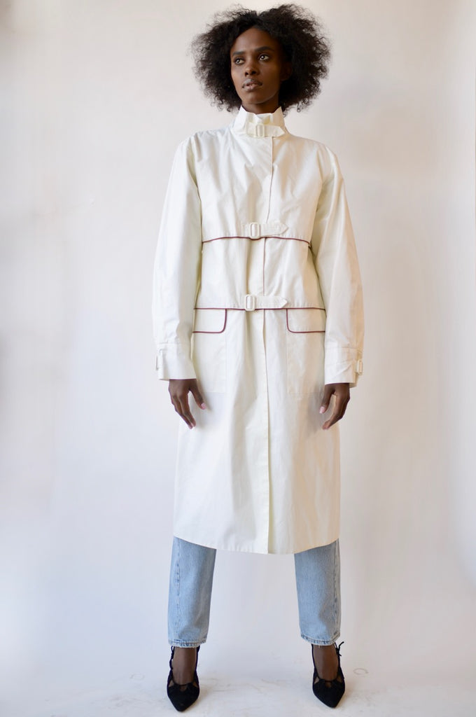 Vintage Guy Laroche Waxed Cotton Trench