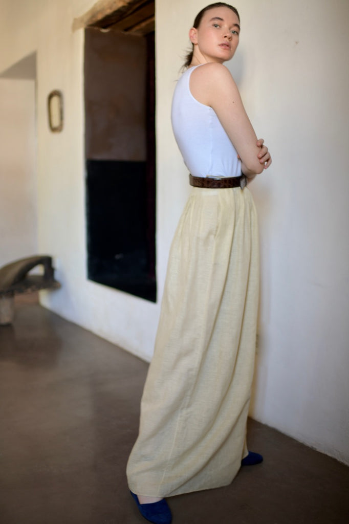 Vintage Geoffrey Beene Pleated Trouser