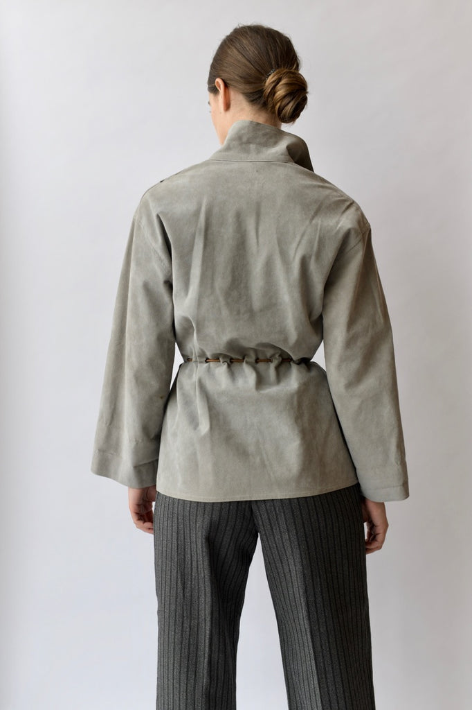 Vintage Geoffrey Beene Gathered Jacket