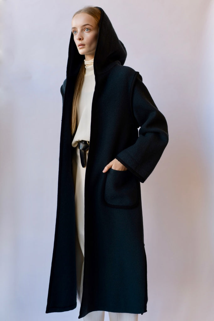 Vintage Hooded Coat