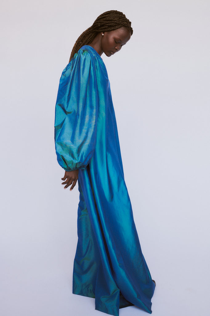 Yves Saint Laurent Silk Taffeta Gown